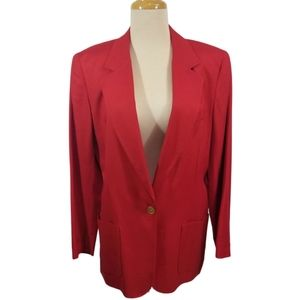 {JH Collectibles} Vintage Red Jacket Blazer